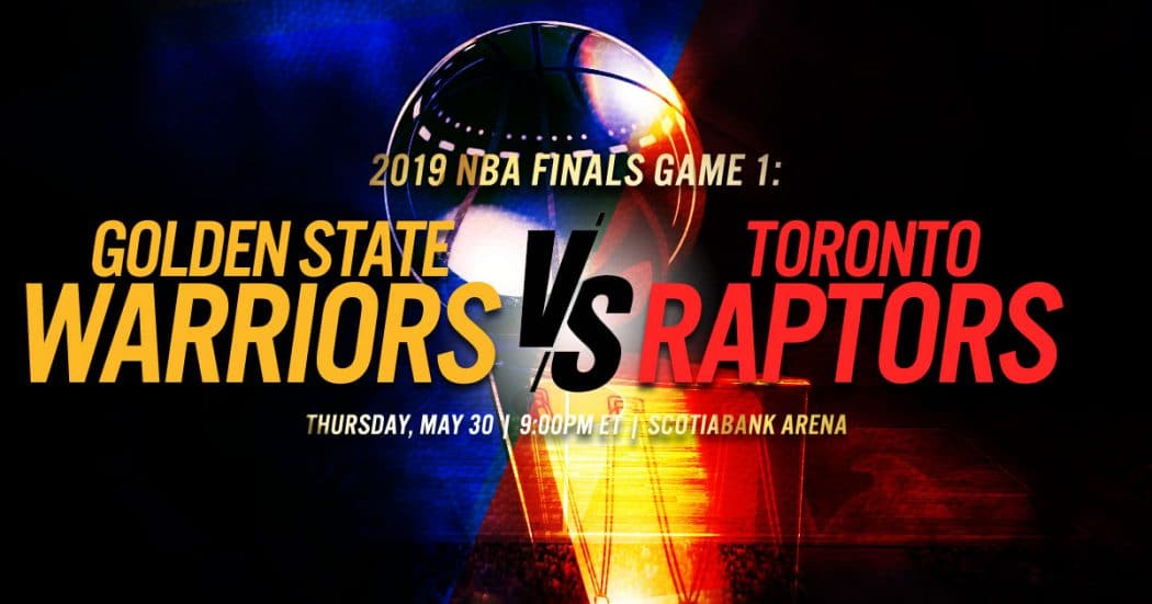 What Does Ats Mean >> Golden State Warriors vs Toronto Raptors Game 1 NBA Finals ...