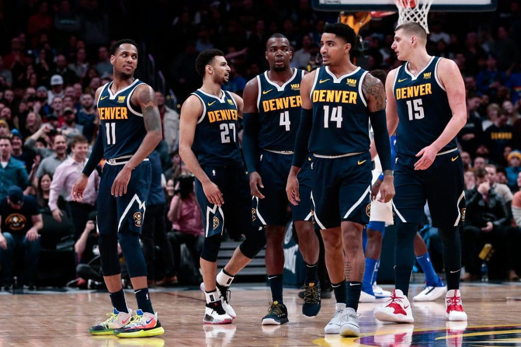 Thanks to great performances, the Nuggets have a Big 3 without