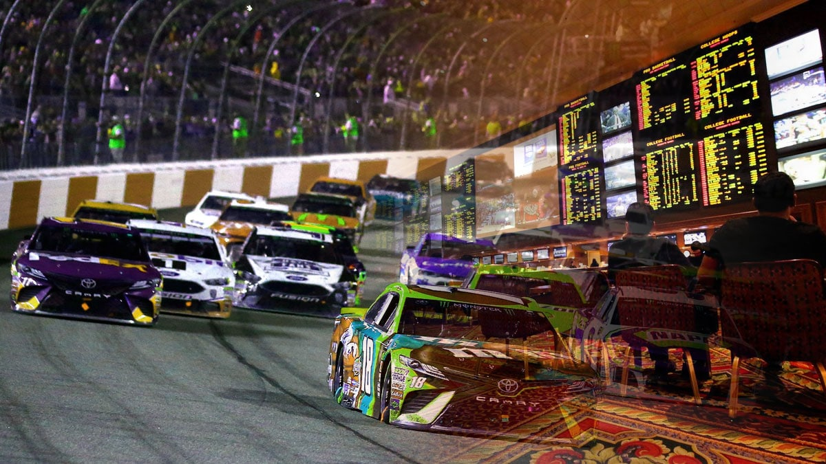 You can now bet on live NASCAR events in Nevada, New York, Iowa, and Mississippi