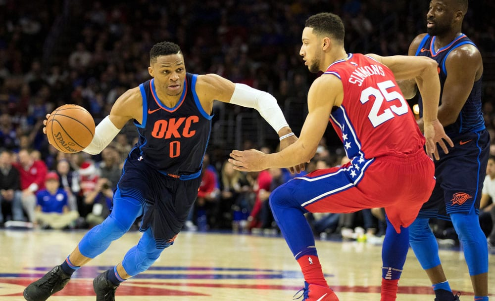 Russell Westbrook And Ben Simmons