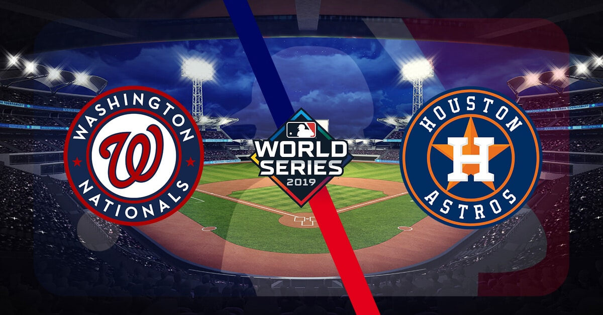 Houston Astros at Washington Nationals – World Series Game Five Pick and Prediction