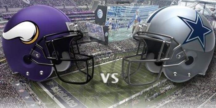 Minnesota Vikings at Dallas Cowboys Sunday Night Football Pick & Preview