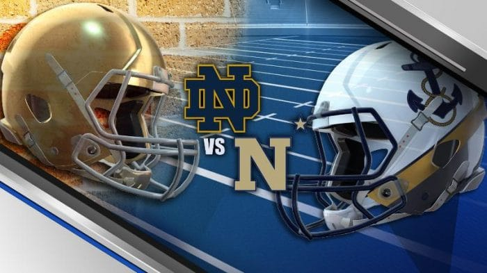 Navy at Notre Dame