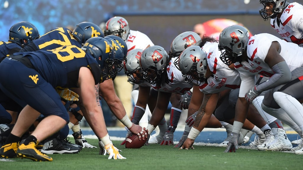 Texas Tech Red Raiders at West Virginia Mountaineers