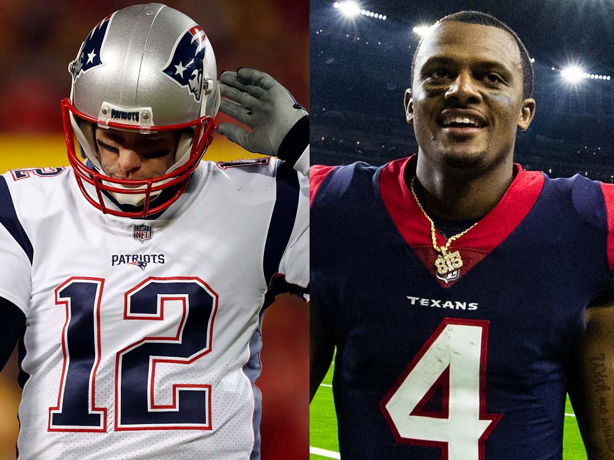 Tom Brady vs. Deshaun Watson
