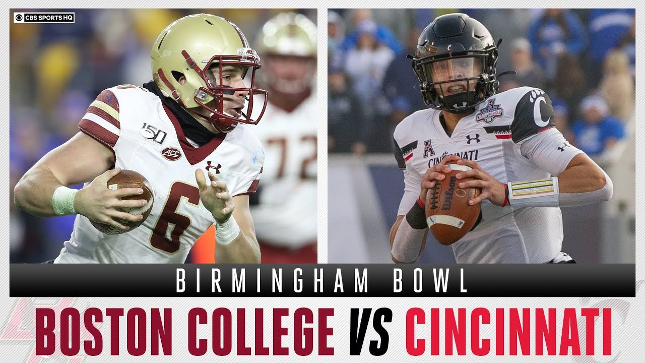Boston College Eagles vs Cincinnati Bearcats - Birmingham Bowl