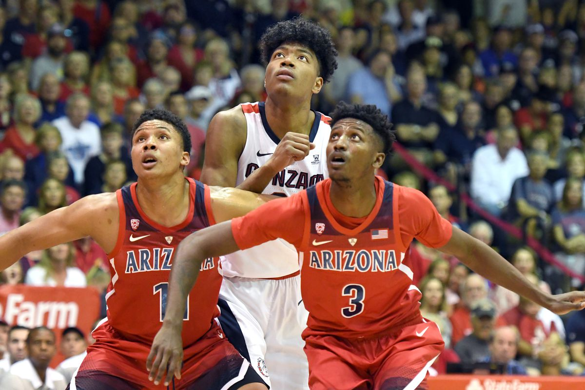 Gonzaga Bulldogs at Arizona Wildcats