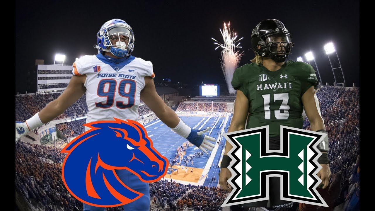 Mountain West Championship Pick & Preview: Hawaii vs Boise State 12/7/19