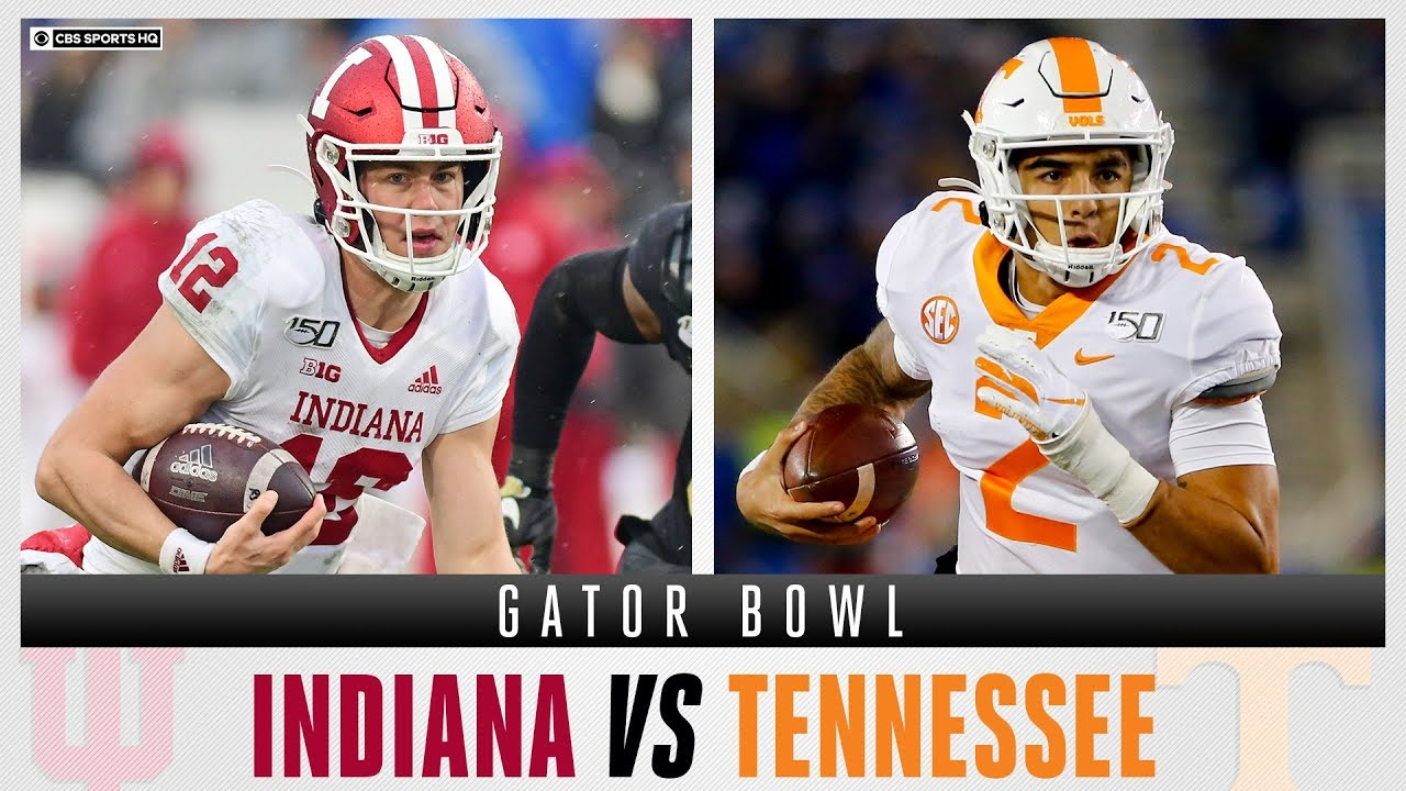 Indiana Hoosiers vs Tennessee Volunteers - Gator Bowl