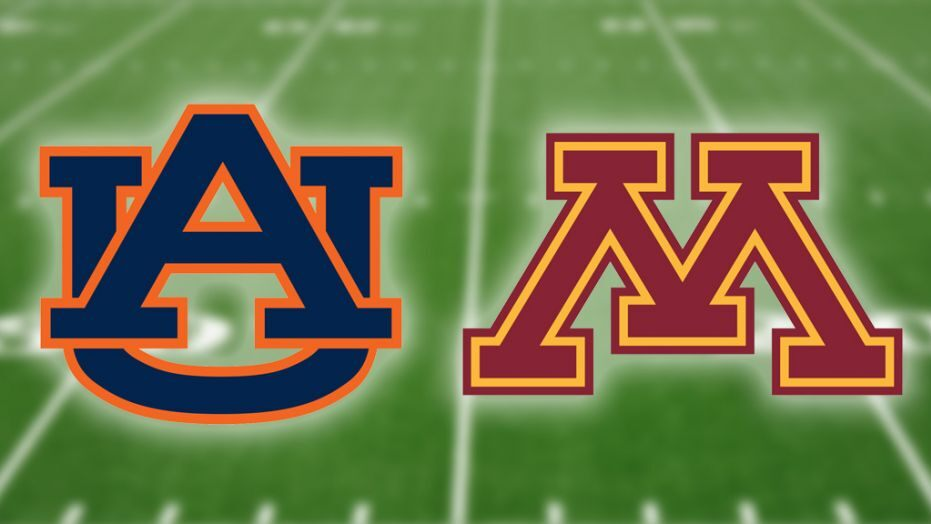 Minnesota Golden Gophers vs Auburn Tigers - Outback Bowl