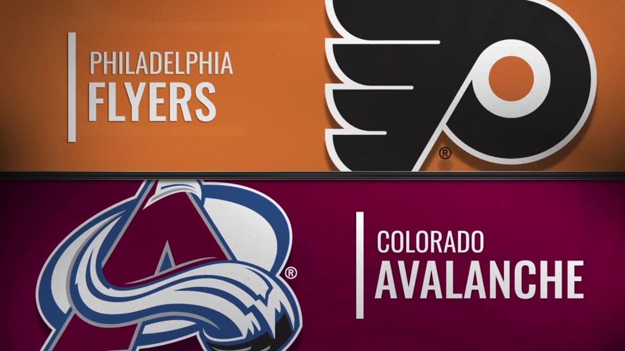 Philadelphia Flyers vs. Colorado Avalanche Free Pick & Preview 12/11/19
