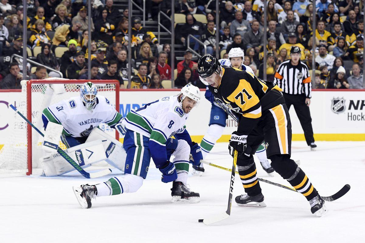 Pittsburgh Penguins vs. Vancouver Canucks Free Pick 12/21/19
