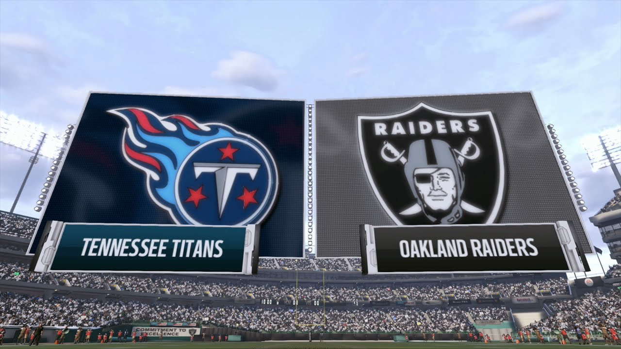 Tennessee Titans at Oakland Raiders NFL Week 14 Pick & Preview