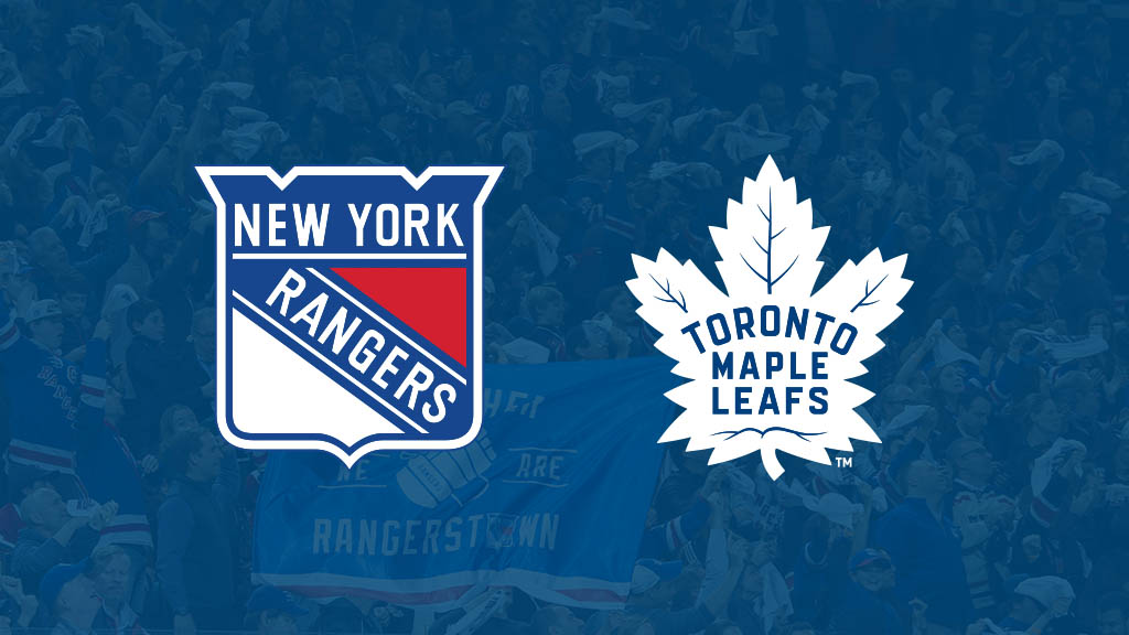 Toronto Maple Leafs vs. New York Rangers Matchup Pick & Preview 12/20/19