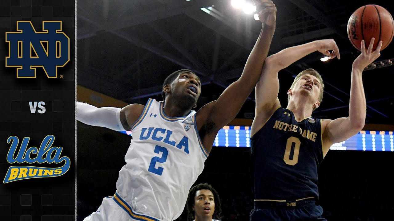 UCLA Bruins vs. Notre Dame Fighting Irish
