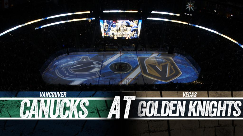 Vancouver Canucks vs. Vegas Golden Knights Free Pick & Preview 12/15/19