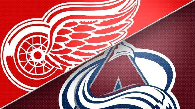Detroit Red Wings vs. Colorado Avalanche