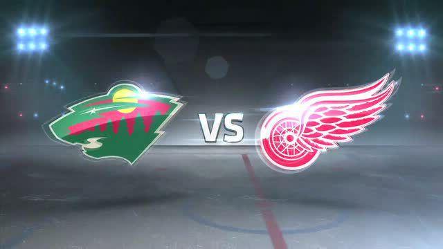 Detroit Red Wings vs. Minnesota Wild