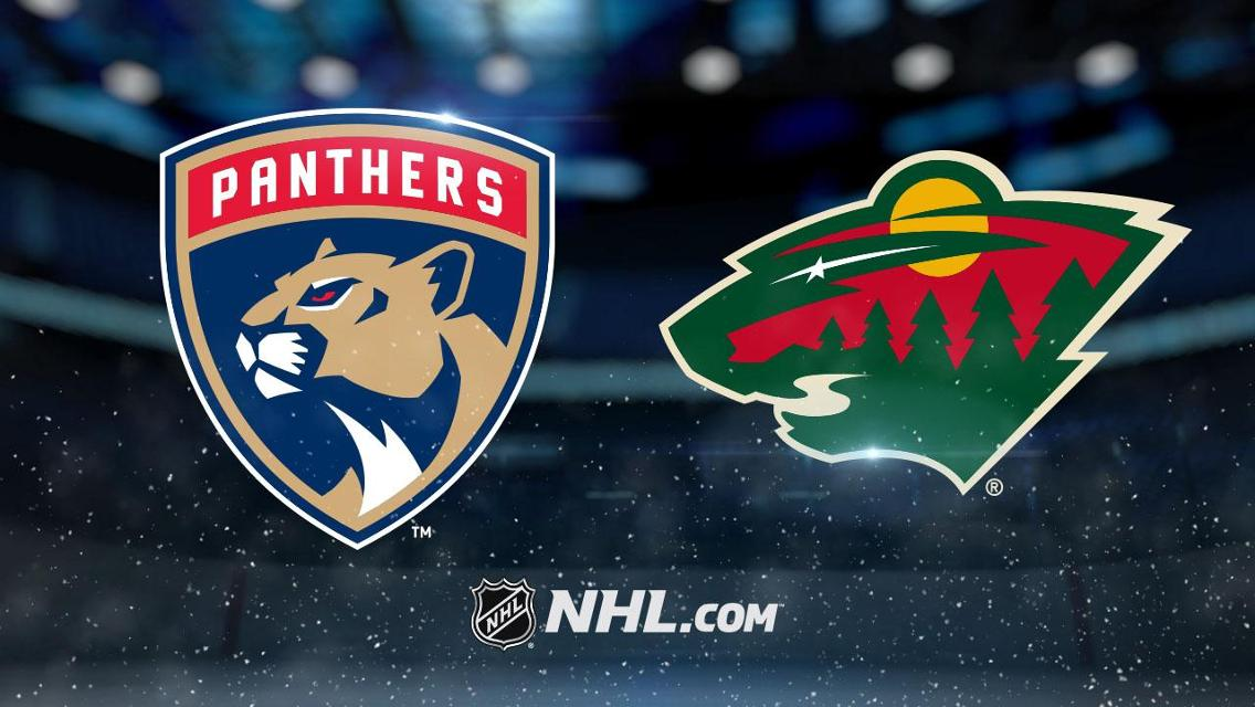 Florida Panthers vs. Minnesota Wild