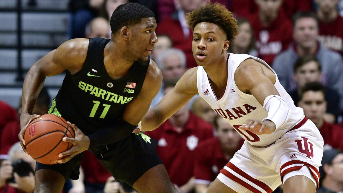 Michigan State Spartans vs. Indiana Hoosiers 01/23/20 Free Pick & Prediction