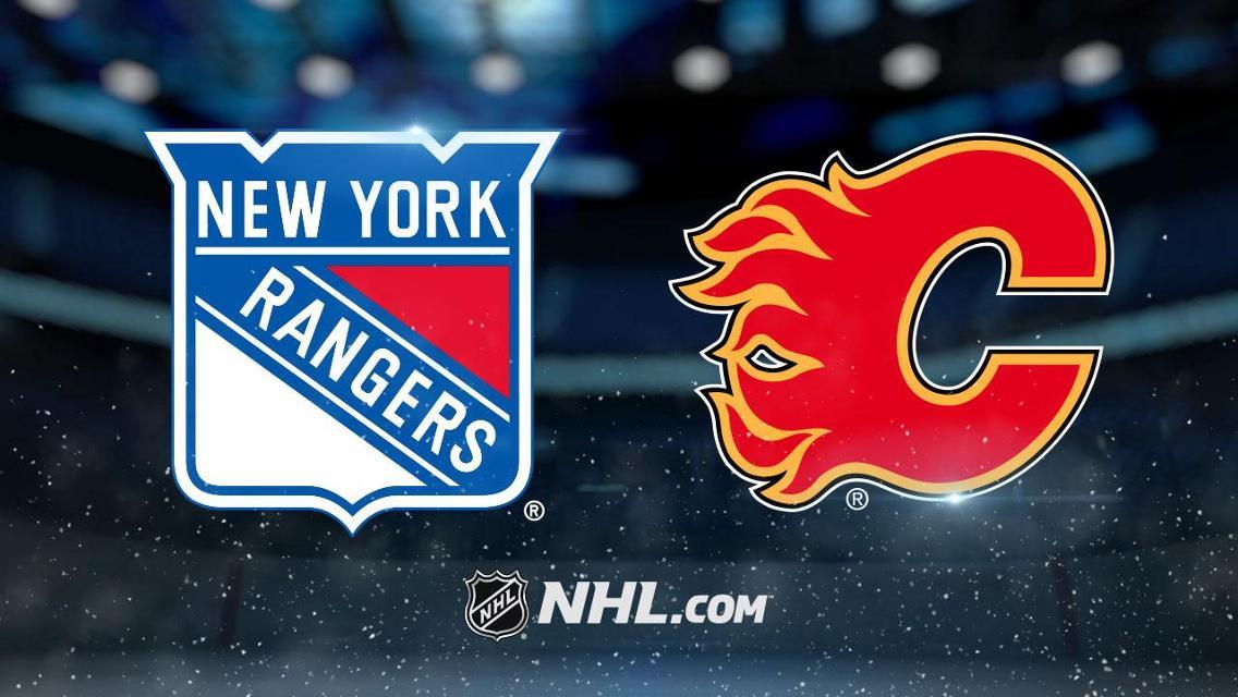 New York Rangers vs. Calgary Flames Game Pick & Prediction 1/2/20