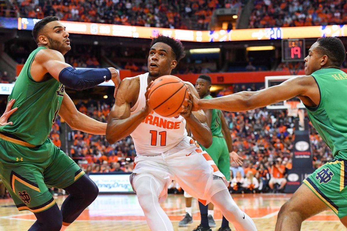 Syracuse Orange at Notre Dame Fighting Irish