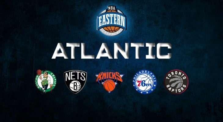 Toronto Raptors -143 Favorites to Win Atlantic Division