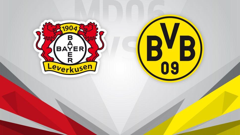 Bayern Leverkusen vs Borussia Dortmund 02/08/20 ...
