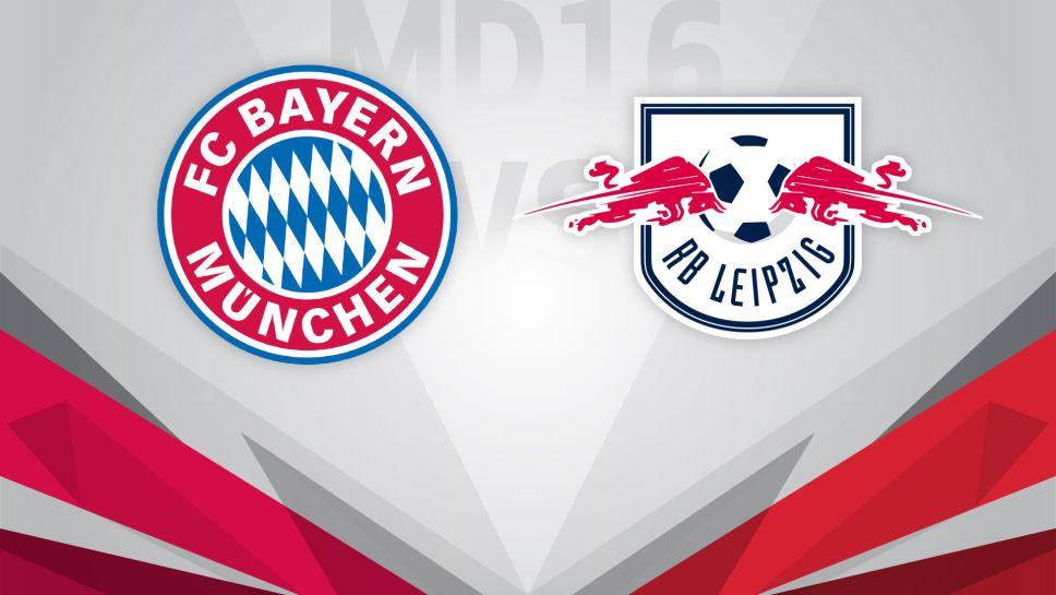 Rb Leipzig Vs Bayern München