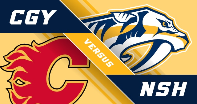 Calgary Flames vs. Nashville Predators 2/27/20 Pick & Prediction