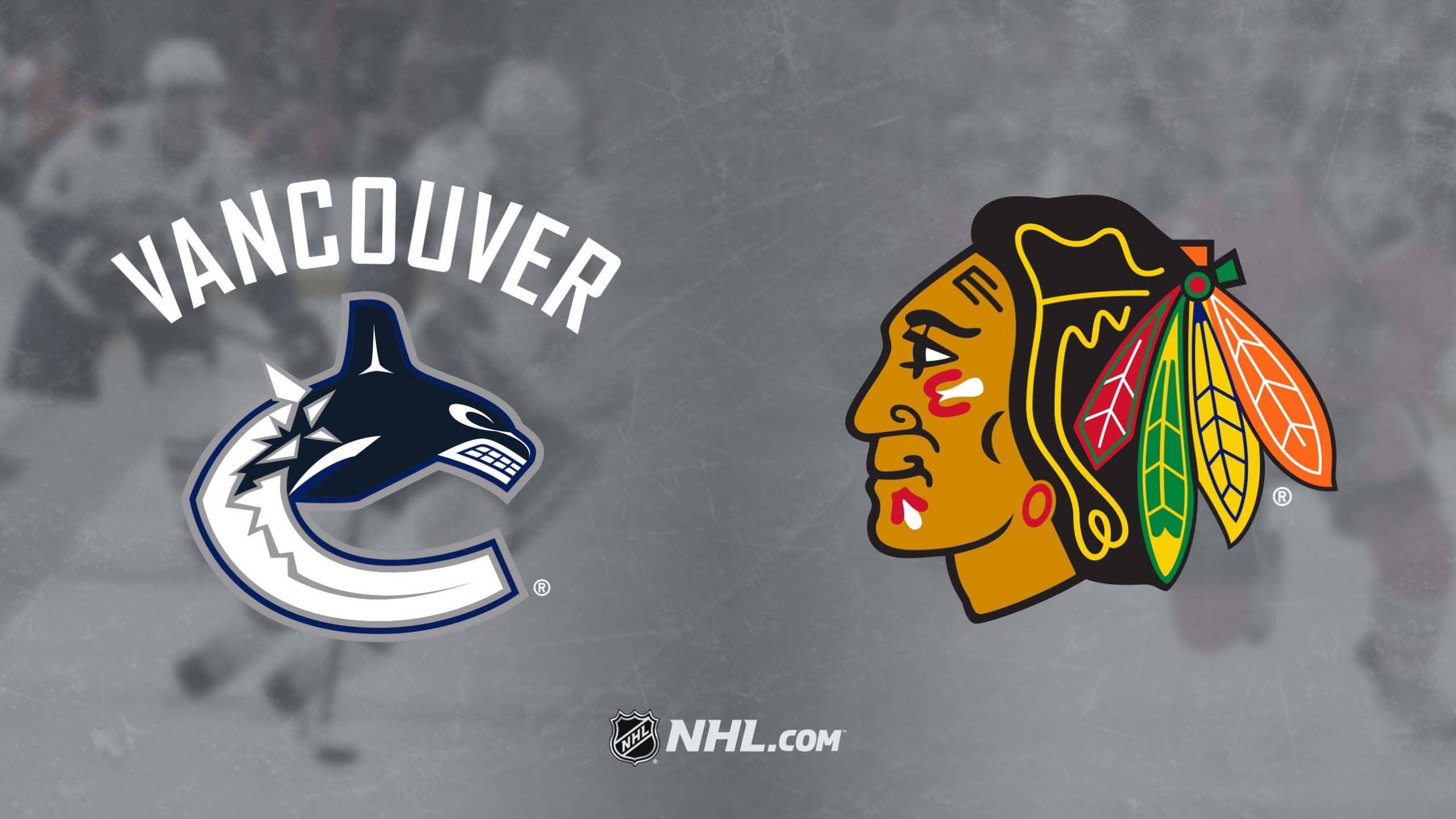 Chicago Blackhawks vs. Vancouver Canucks 2/12/20 Free Prediction