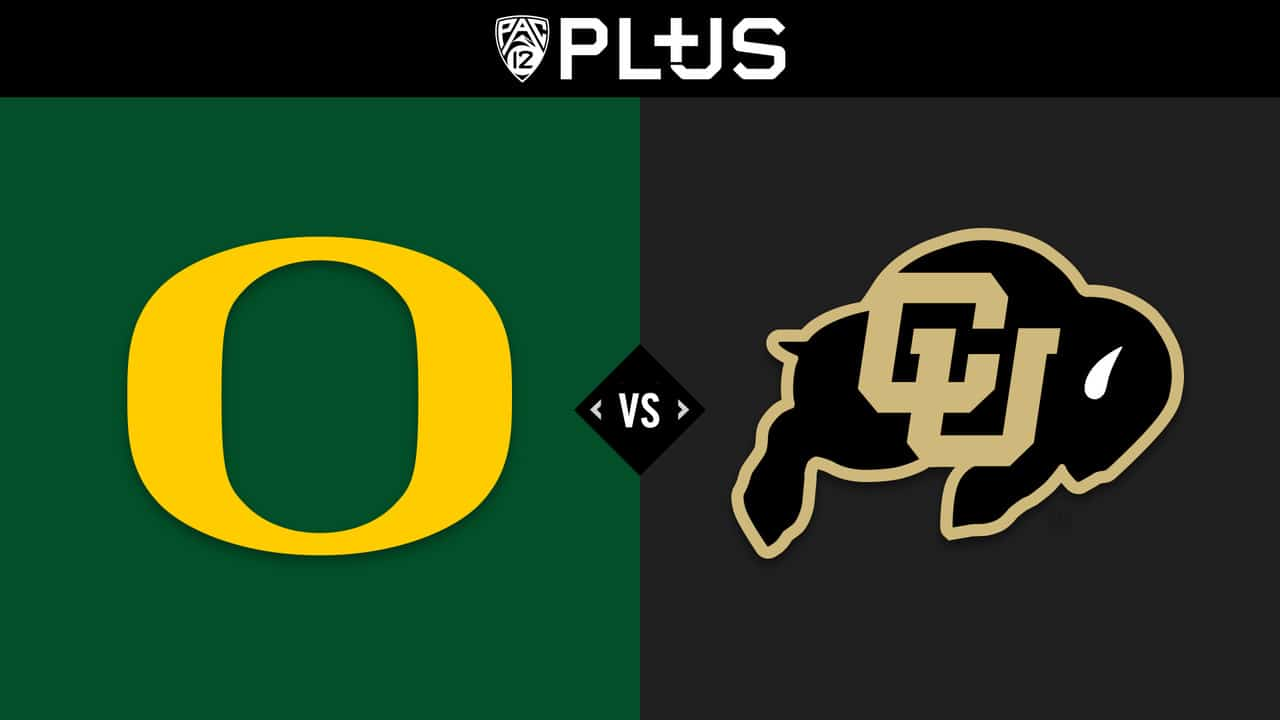 Colorado Buffaloes vs. Oregon Ducks