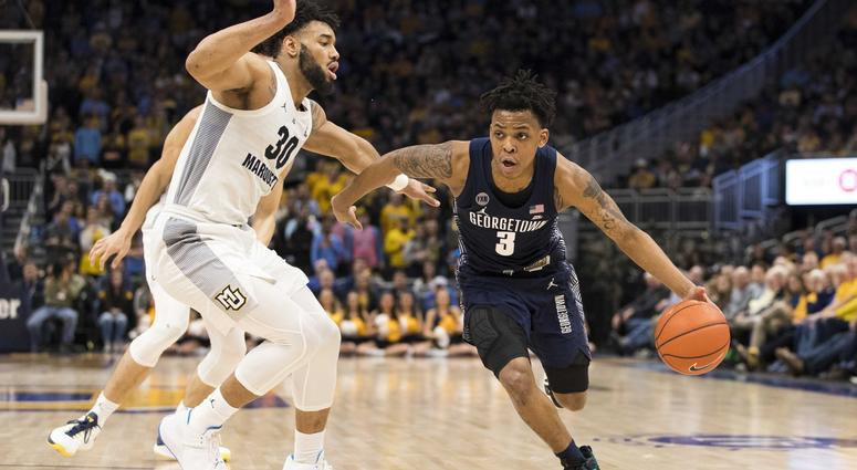 Georgetown Hoyas at Marquette Golden 02/26/20 Eagles ATS Pick & Prediction