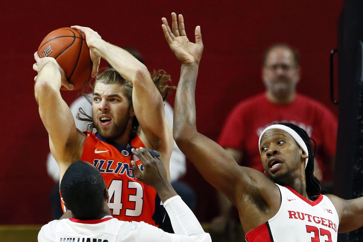 #22 Illinois Fighting Illini at Rutgers Scarlet Knights – Big Ten Basketball Odds, Preview & Pick