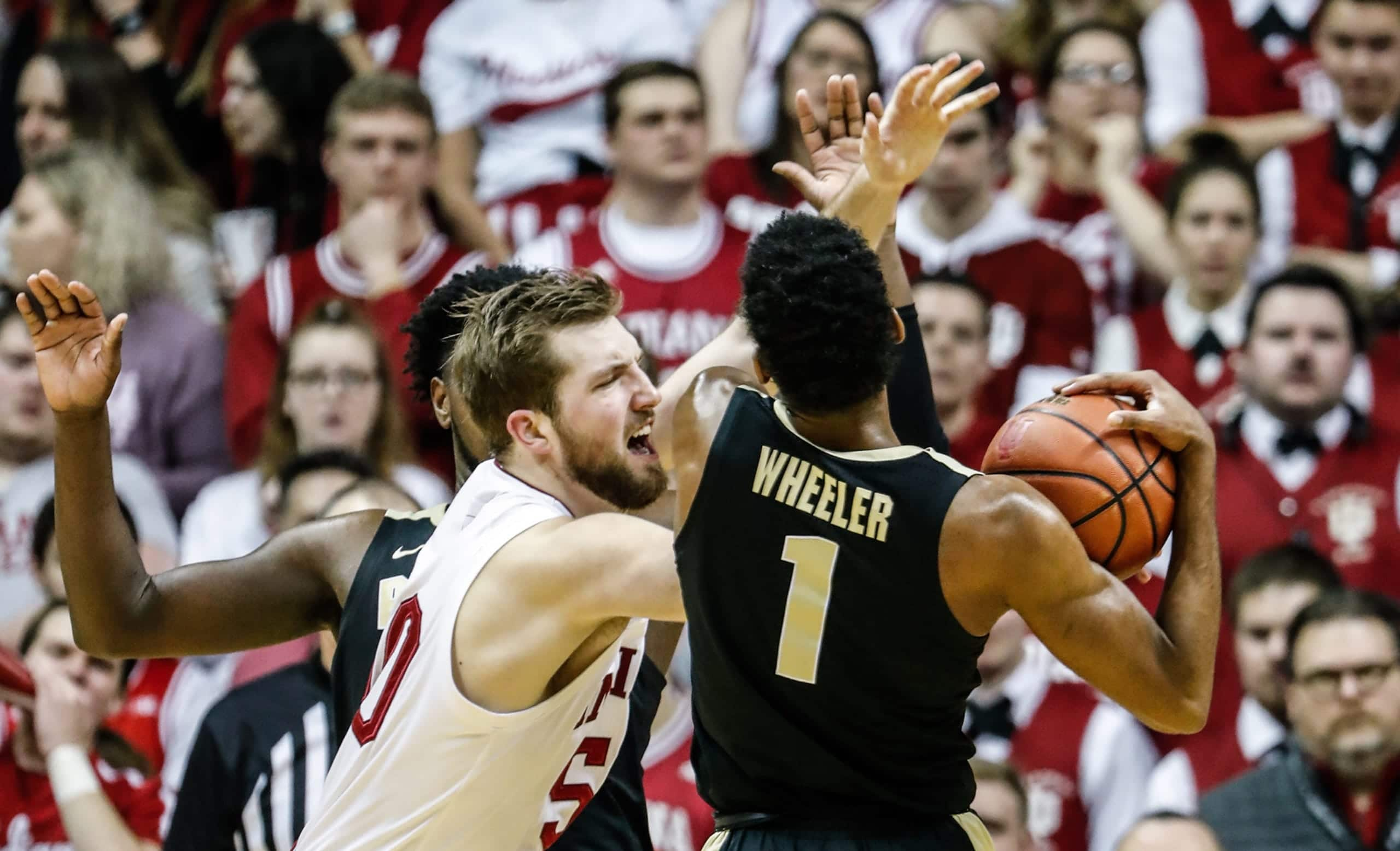 Indiana Hoosiers at Purdue Boilermakers 02/27/20 ATS Pick & Prediction