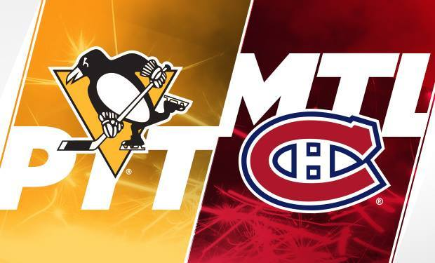 Montreal Canadiens at Pittsburgh Penguins