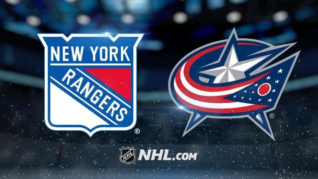 New York Rangers at Columbus Blue Jackets 2/14/20 Pick & Prediction