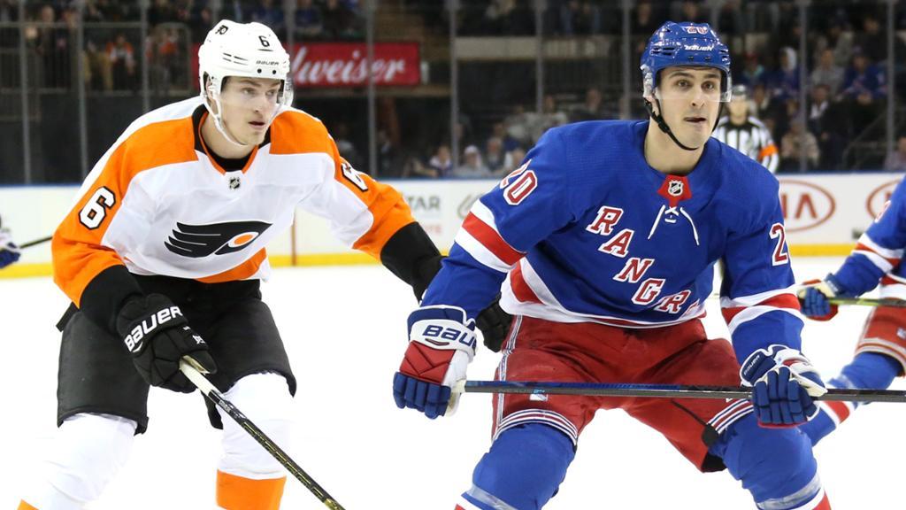 New York Rangers at Philadelphia Flyers 2/28/20 Pick & Prediction