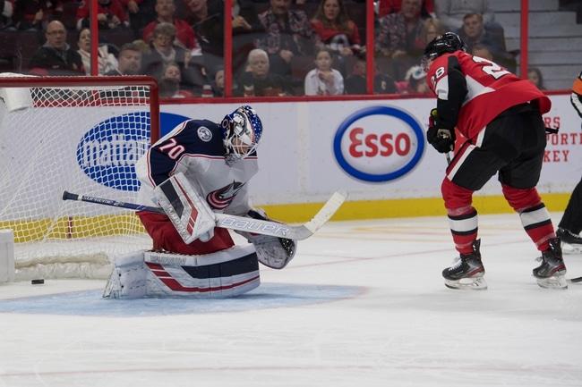 Ottawa Senators vs. Columbus Blue Jackets