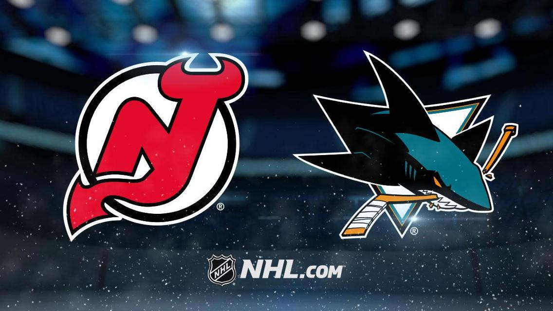 San Jose Sharks at New Jersey Devils 2/20/20 Free Pick