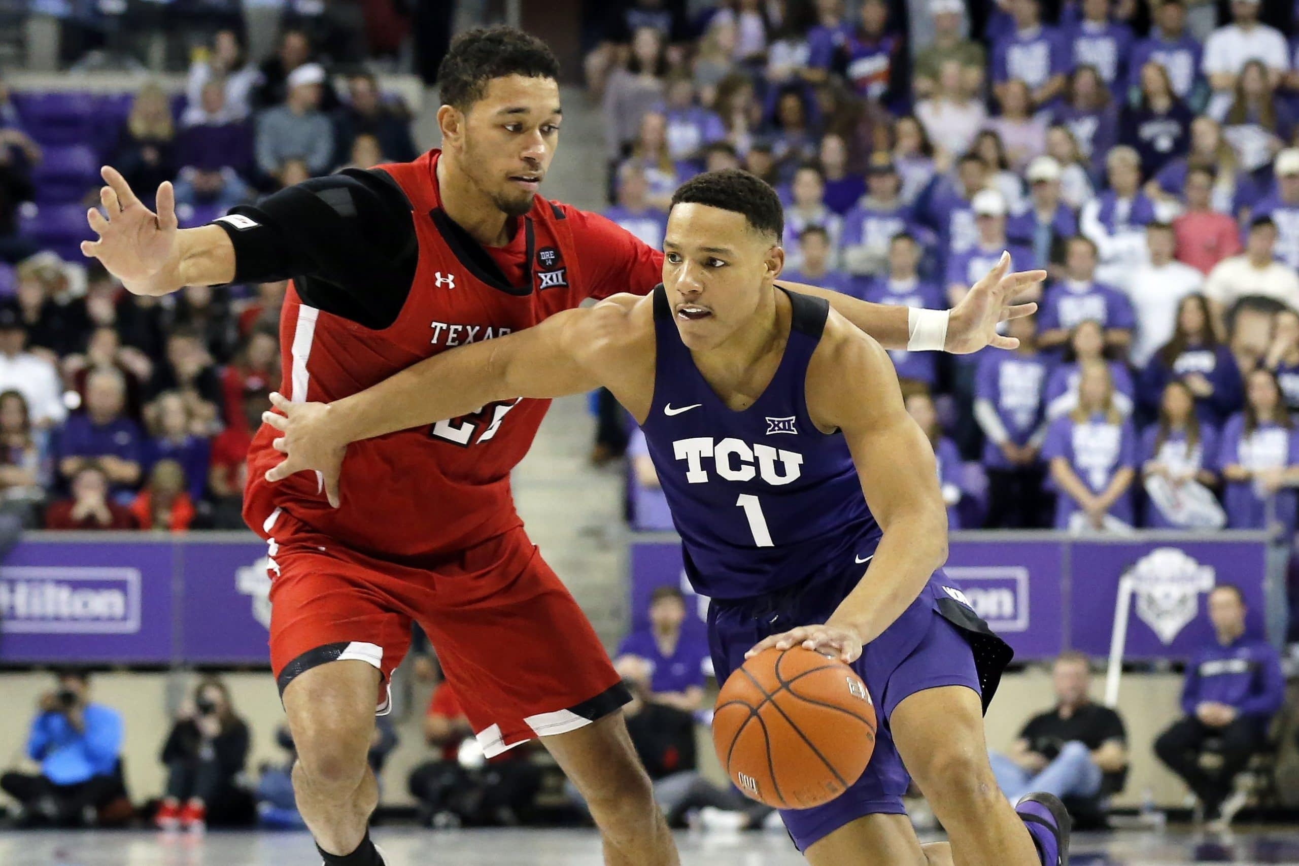 TCU Horned Frogs at Texas Tech Red Raiders 02/10/20 Odds Pick & Prediction