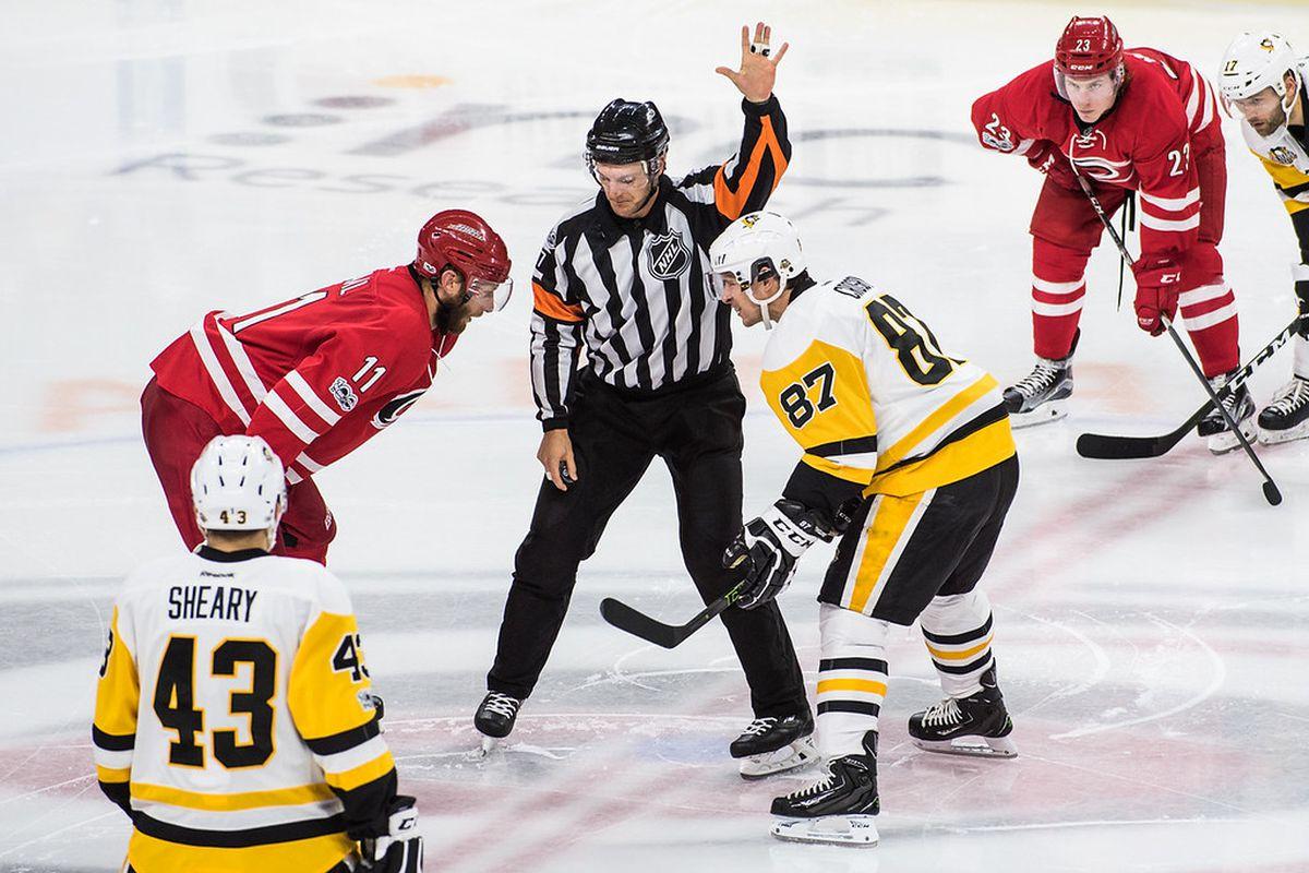 Carolina Hurricanes vs. Pittsburgh Penguins