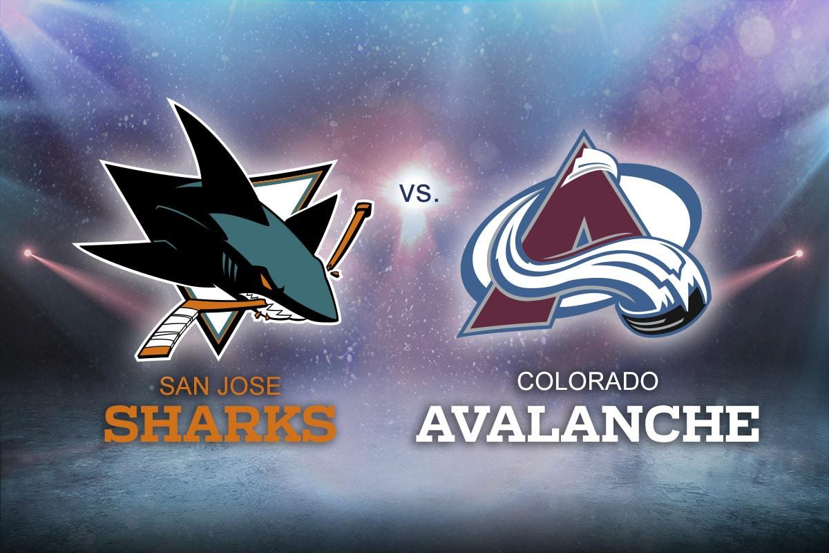 Colorado Avalanche vs. San Jose Sharks