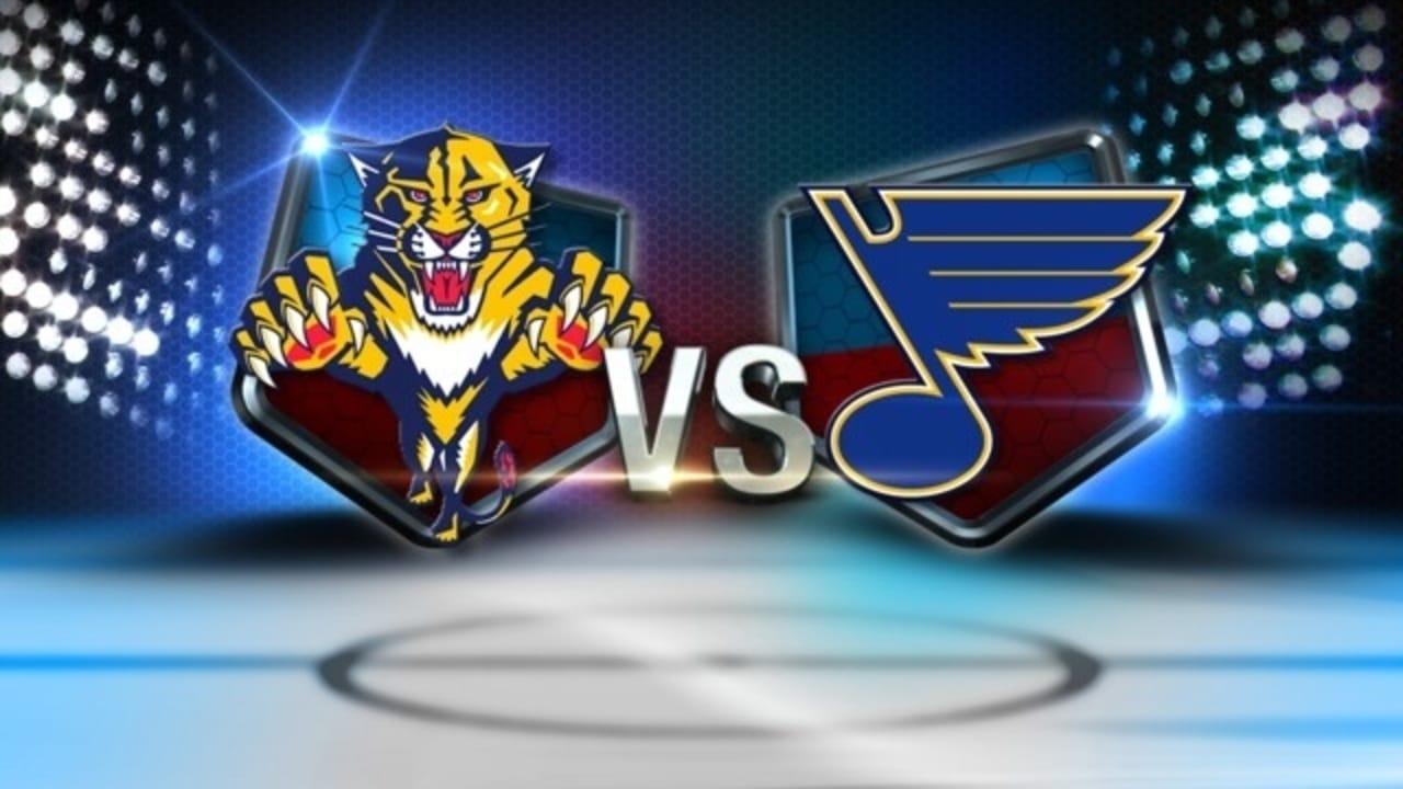 Florida Panthers at St. Louis Blues