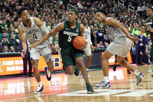 Michigan State Spartans at Penn State Nittany Lions 03/03/20 Odds Pick & Prediction