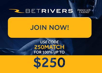 BetRiver Match Bonus