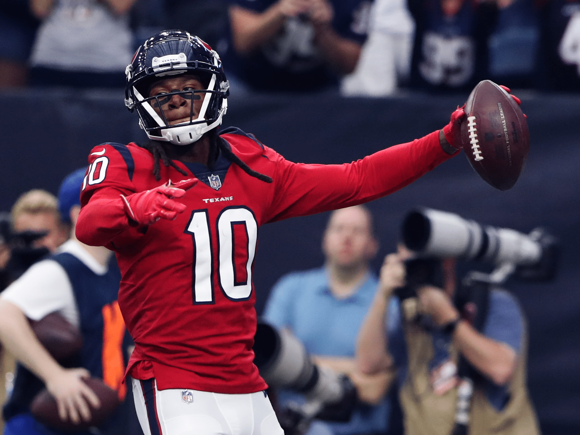 Can DeAndre Hopkins Live Up To His Own Hype In Arizona? Hopkins Betting Props