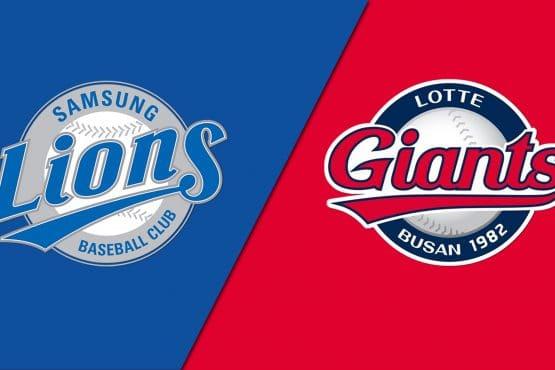 Samsung Lions vs Lotte Giants