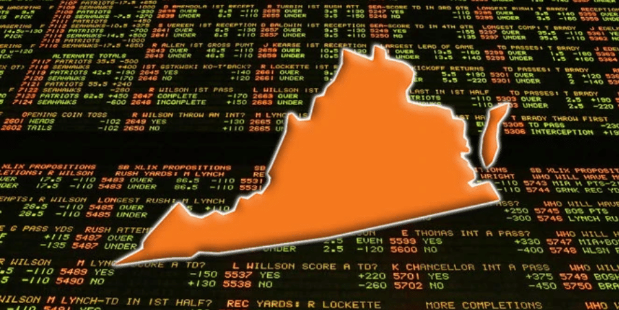 Virginia Approves Online Sports Betting