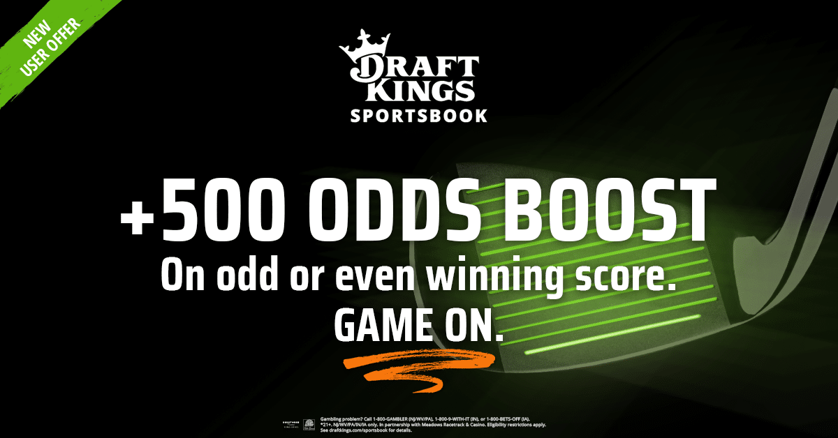 Special Promotions at DraftKings Sportsbook for Charles Schwab Challenge